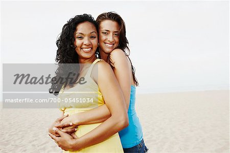 Couple Hugging on Beach Stock Photo - Rights-Managed, Image code: 700-05451034