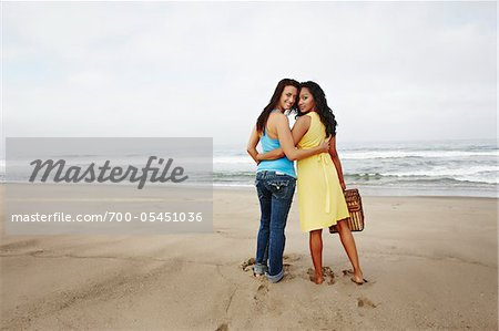 Couple on Beach Stock Photo - Rights-Managed, Image code: 700-05451036