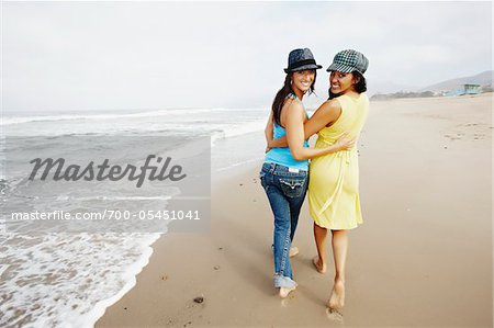 Couple Walking on Beach Stock Photo - Rights-Managed, Image code: 700-05451041
