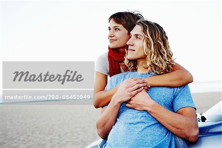 Couple at Beach Stock Photo - Rights-Managed, Image code: 700-05451049
