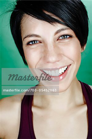 Portrait of Woman Stock Photo - Rights-Managed, Image code: 700-05452063