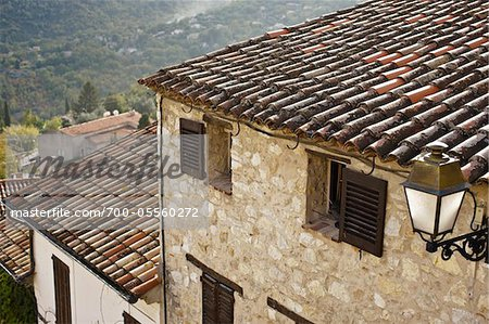 Close-Up of House, Le Bar-sur-Loup, Alpes-Maritimes, France Stock Photo - Rights-Managed, Image code: 700-05560272