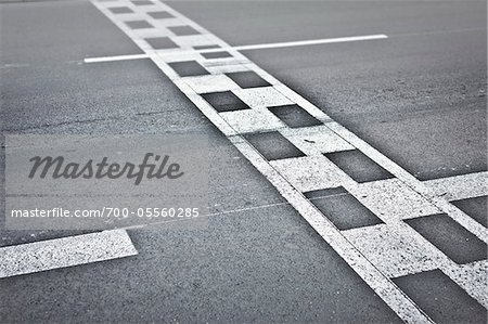 Monaco Grand Prix Start / Finish Line, Monte Carlo, Monaco, Cote d'Azur Stock Photo - Rights-Managed, Image code: 700-05560285