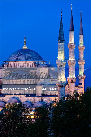The Blue Mosque, Istanbul, Turkey Stock Photo - Rights-Managed, Image code: 700-05609448