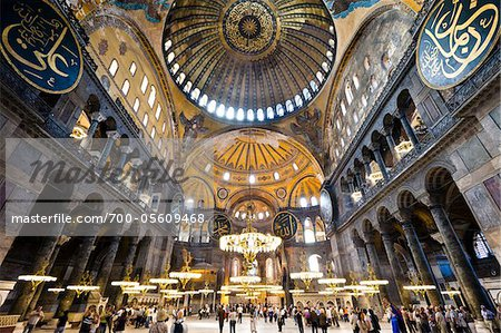 Hagia Sophia, Istanbul, Turkey Stock Photo - Rights-Managed, Image code: 700-05609468