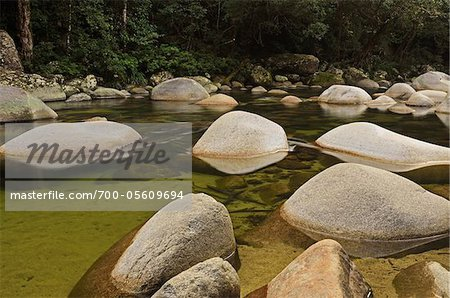 Mossman Gorge, Daintree National Park, Queensland, Australia Stock Photo - Rights-Managed, Image code: 700-05609694