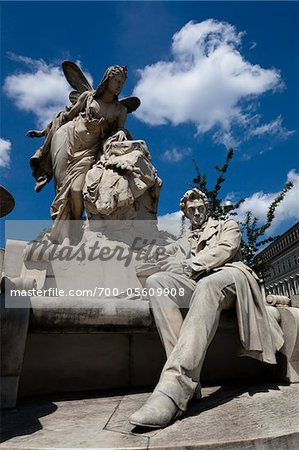 Statue of Ferdinand Raimund, Vienna, Austria Stock Photo - Rights-Managed, Image code: 700-05609908