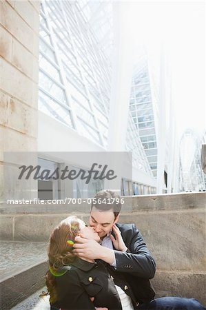 Couple Kissing Stock Photo - Rights-Managed, Image code: 700-05641796