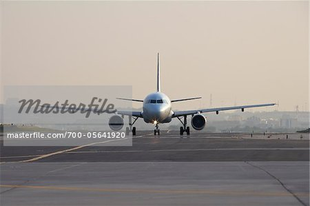 Airplane on Runway, Toronto, Ontario, Canada Stock Photo - Rights-Managed, Image code: 700-05641920