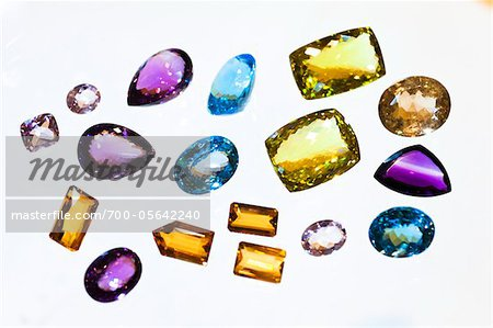 Close-Up of Gemstones Stock Photo - Rights-Managed, Image code: 700-05642240