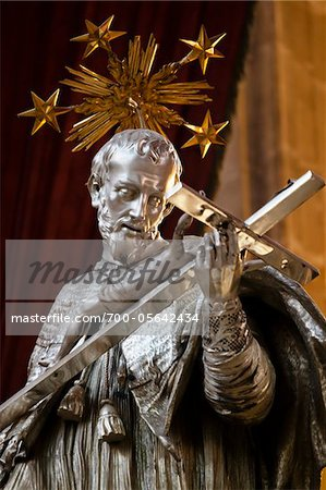 Tomb of John of Nepomuk, St. Vitus Cathedral, Prague Castle, Prague, Czech Republic Stock Photo - Rights-Managed, Image code: 700-05642434