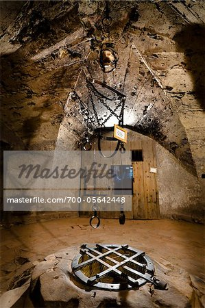 Torture Chamber, Golden Lane, Prague Castle, Prague, Czech Republic Stock Photo - Rights-Managed, Image code: 700-05642448