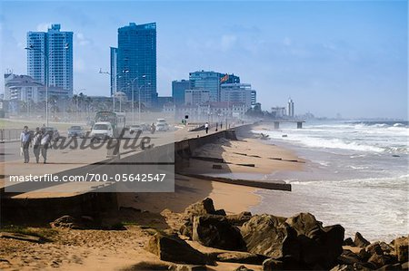 Harbour in Fort District, Pettah, Colombo, Sri Lanka