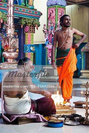 Adi Puram Ceremony at Hindu Temple, Colombo, Sri Lanka