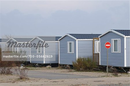 Row of Mobile Homes Stock Photo - Rights-Managed, Image code: 700-05662619
