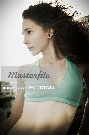 Portrait of Woman Stock Photo - Rights-Managed, Image code: 700-05756252