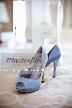 Blue Shoes Stock Photo - Rights-Managed, Image code: 700-05756380