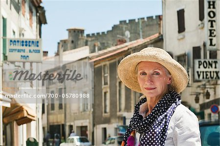 Portrait of Woman in France Stock Photo - Rights-Managed, Image code: 700-05780988
