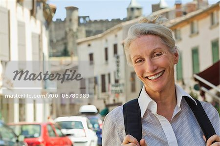 Portrait of Woman in France Stock Photo - Rights-Managed, Image code: 700-05780989