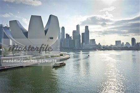 ArtScience Museum at Marina Bay Sands, Singapore Stock Photo - Rights-Managed, Image code: 700-05781028