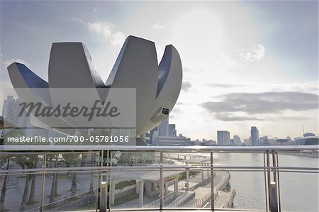 ArtScience Museum at Marina Bay Sands, Singapore Stock Photo - Rights-Managed, Image code: 700-05781056