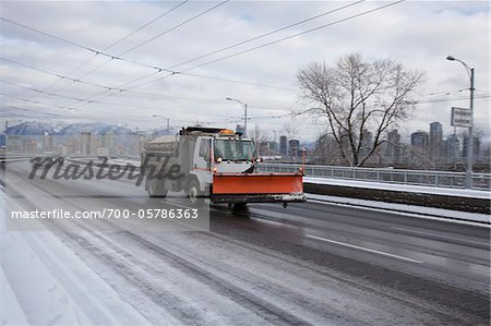 Vehicles on Granville Street Bridge in Winter, Vancouver, British Columbia, Canada Stock Photo - Rights-Managed, Image code: 700-05786363