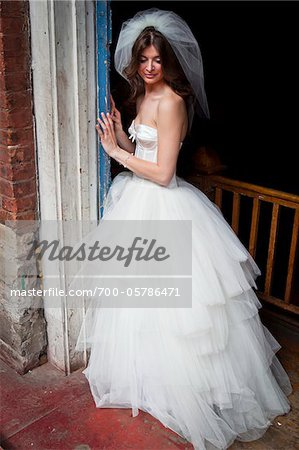 Portrait of Bride Stock Photo - Rights-Managed, Image code: 700-05786471