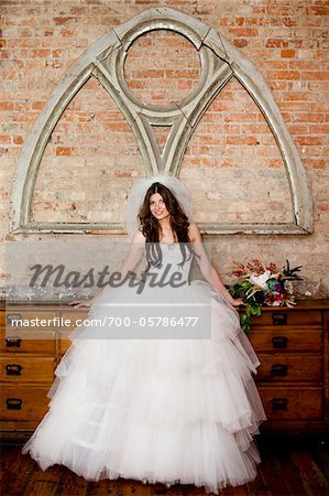 Portrait of Bride Stock Photo - Rights-Managed, Image code: 700-05786477