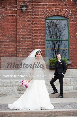 Bride and Groom Stock Photo - Rights-Managed, Image code: 700-05786621