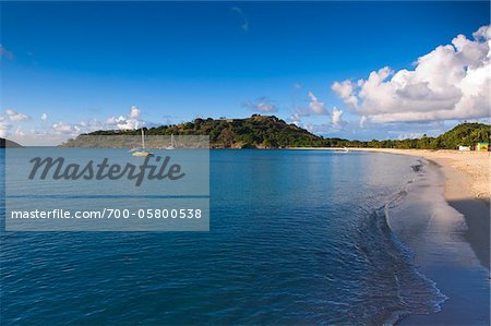 Deep Bay, Five Islands Village, Antigua, Antigua and Barbuda Stock Photo - Rights-Managed, Image code: 700-05800538