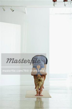 Woman Doing Yoga Stock Photo - Rights-Managed, Image code: 700-05803443