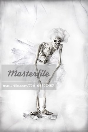 Skeleton Ballet Dancer Stock Photo - Rights-Managed, Image code: 700-05803457