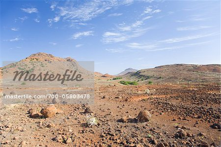 Arid Landscape, Boa Vista, Cape Verde, Africa Stock Photo - Rights-Managed, Image code: 700-05803478