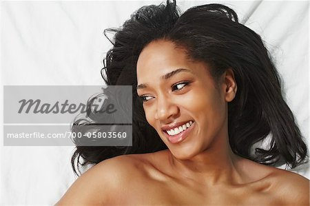Woman in Bed Stock Photo - Rights-Managed, Image code: 700-05803560