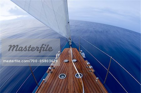 Sailing on Atlantic Ocean Stock Photo - Rights-Managed, Image code: 700-05803629