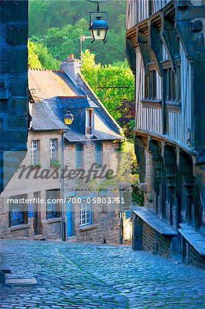 Dinan, Cotes-d'Armor, Bretagne, France Stock Photo - Rights-Managed, Image code: 700-05803751