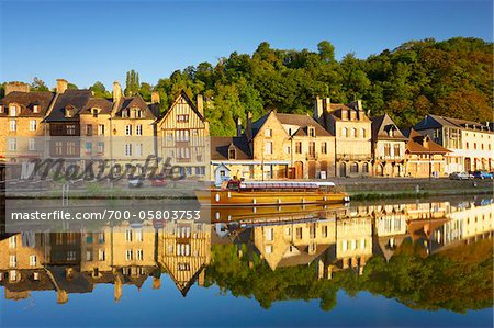 Dinan and Rance River, Cotes-d'Armor, Bretagne, France Stock Photo - Rights-Managed, Image code: 700-05803753