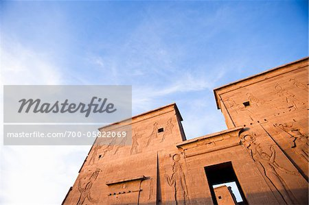 Main Entrance, Temple of Edfu, Edfu, Egypt Stock Photo - Rights-Managed, Image code: 700-05822069