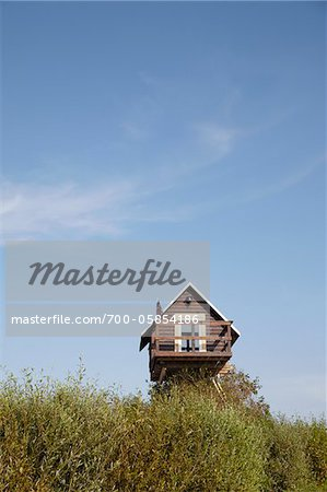 Small, Elevated House, Rerik, Mecklenburg-Vorpommern, Germany Stock Photo - Rights-Managed, Image code: 700-05854186