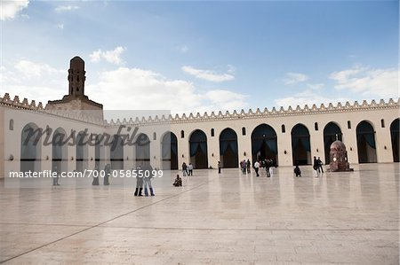 Al-Hakim Mosque, Cairo, Egypt Stock Photo - Rights-Managed, Image code: 700-05855099
