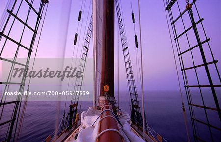 Sailboat at Dusk Stock Photo - Rights-Managed, Image code: 700-05947859