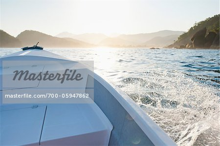 Boating near Praia do Sono, Paraty, Costa Verde, Brazil Stock Photo - Rights-Managed, Image code: 700-05947862