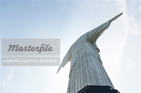 Christ the Redeemer Statue, Rio de Janeiro, Brazil Stock Photo - Rights-Managed, Image code: 700-05947876