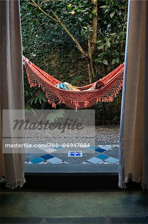 Woman in Hammock, Paraty, Rio de Janeiro, Brazil Stock Photo - Rights-Managed, Image code: 700-05947884