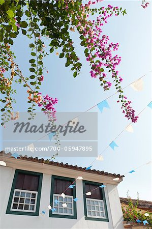 Low-Angle View of Home, Paraty, Rio de Janeiro, Brazil Stock Photo - Rights-Managed, Image code: 700-05947895