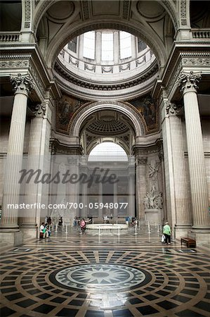 Interior of La Sorbonne, Pantheon-Sorbonne University, Paris, France Stock Photo - Rights-Managed, Image code: 700-05948077