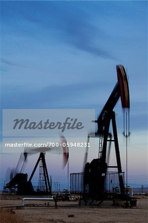 Oil Pump Jacks, California, USA Stock Photo - Rights-Managed, Image code: 700-05948231