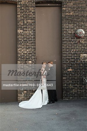 Portrait of Bride and Groom Stock Photo - Rights-Managed, Image code: 700-05973643