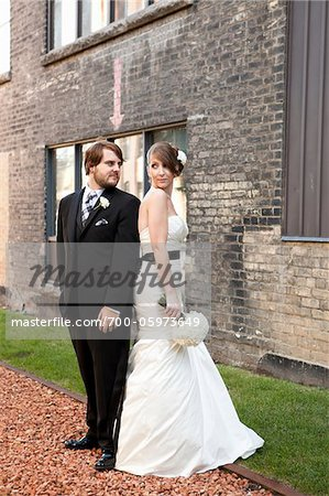 Bride and Groom Stock Photo - Rights-Managed, Image code: 700-05973649