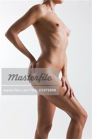 Nude Woman in Studio Stock Photo - Rights-Managed, Image code: 700-05973898